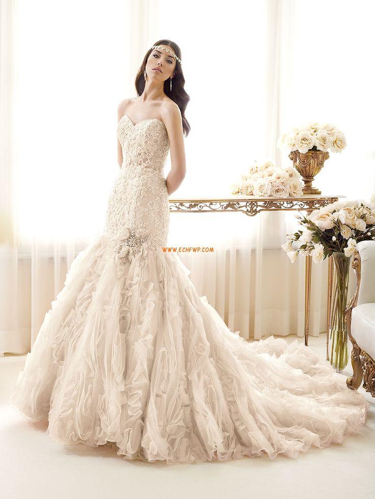 119 best Abiti da sposa a sirena images on Pinterest | Wedding ...
