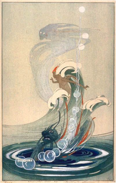 Wind and Wave by Bertha Lum, 19