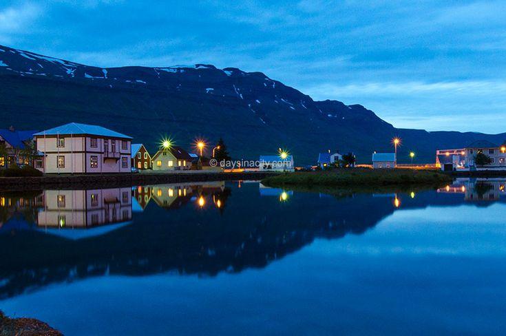 Seydisfjordur, a cute artsy town on Iceland's East coast.