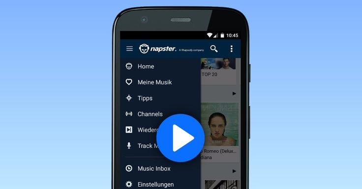 Napster App Demo. Click to play the demo. #appdemo