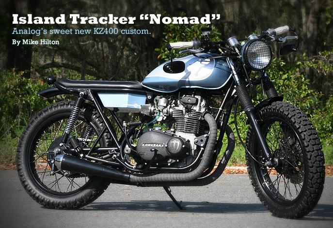 Island Tracker Nomad Analog S Sweet New Kz400 Custom