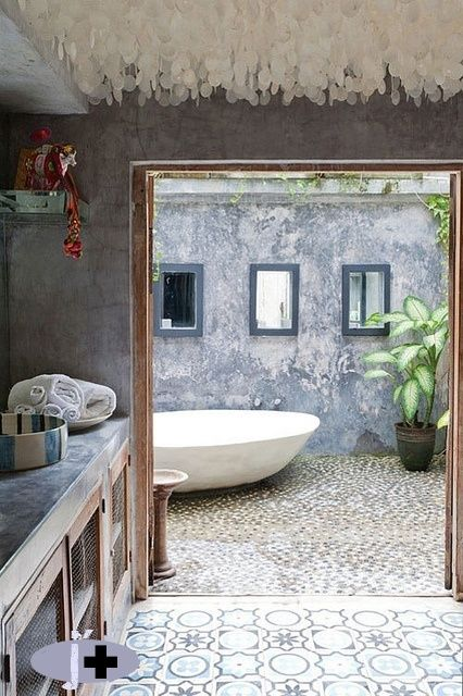 Méchant Design: bathroom love
