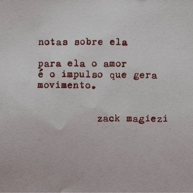 """""""Movimento sagrado. Bom dia!                             #zackmagiezi                            #notassobreela"""""""