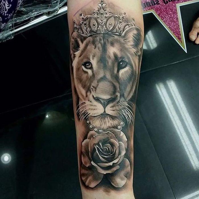 ▷ 1001 + coole Löwen Tattoo Ideen zur Inspiration