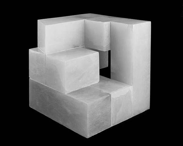 Jorge Oteiza - Cubos abiertos. Espacios interiores. Retenciones de luz. (Version C) (1972)