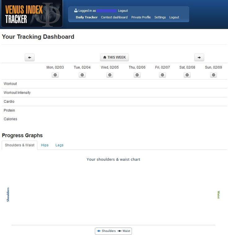 736 x 760 jpeg 35kB, ... Factor Tracking Dashboard | The Venus Factor ...