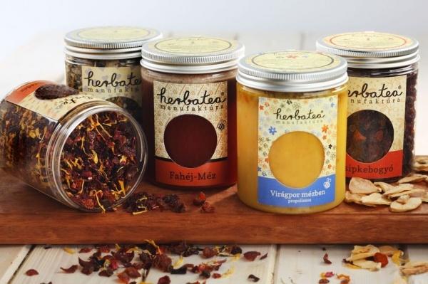 Bioprodukte (Tee, Gewürzhonig... ) von Herbatea Manufaktúra Kft