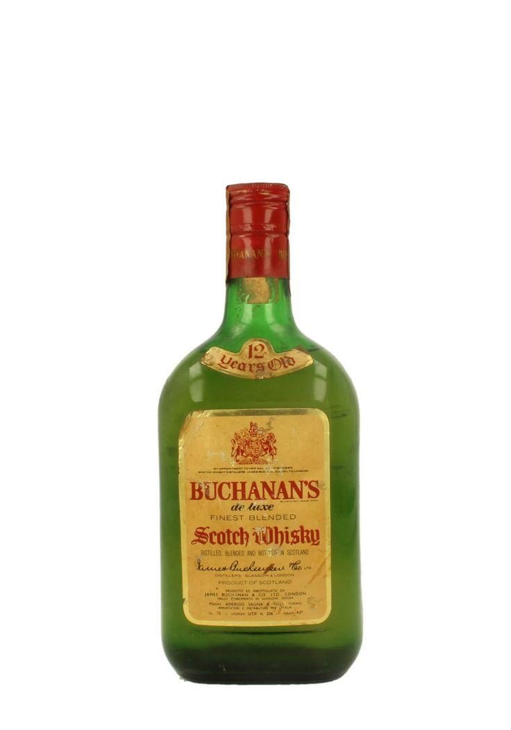 BUCHANAN'S 12 YO BLENDED SCOTCH WHISKY 75 CL ...