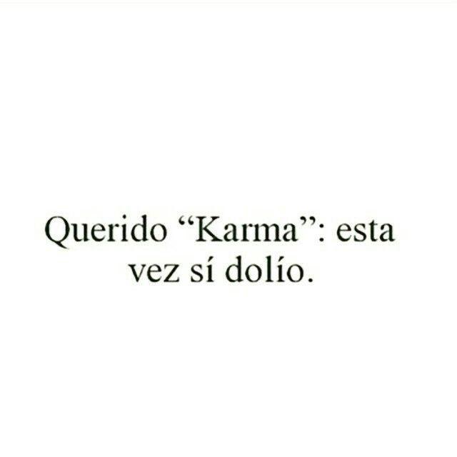 karma quotes in spanish - photo #31