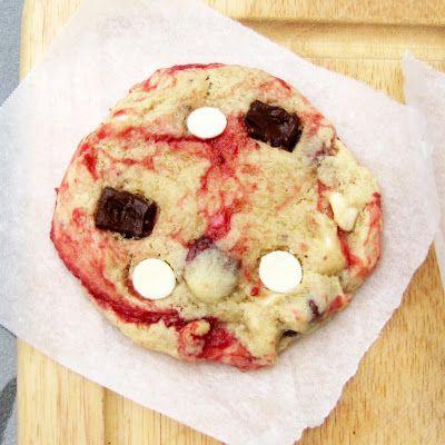 Disneyland's White Chocolate Raspberry Cookies