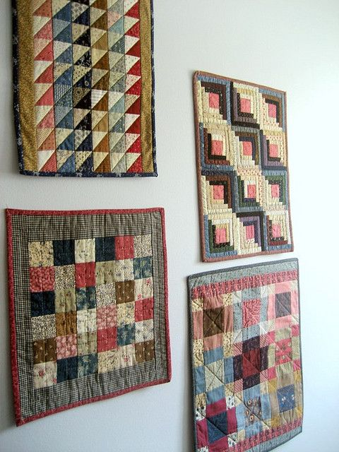 LOVE small quilts! I'm in a monthly quilt club to make these small quilts.with primitive gathers, wi
