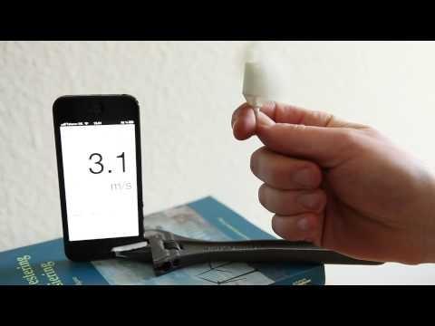 今日はイイ風だな... サーファーは必携(?)な 磁石式スマホ風速計 http://www.tabroid.jp/news/2013/03/earphone-wind.html