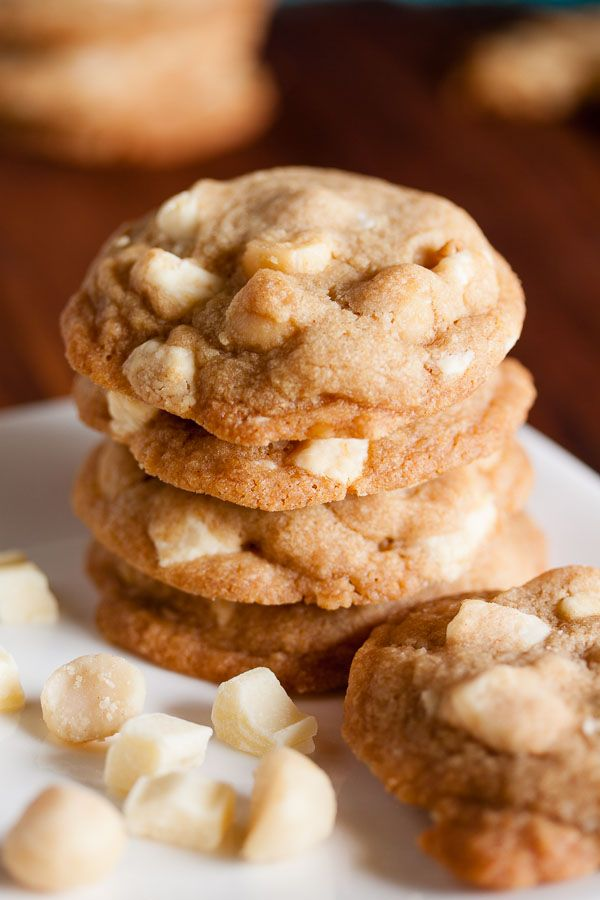 Brown Butter White Chocolate Macadamia Cookies | wanna come with?