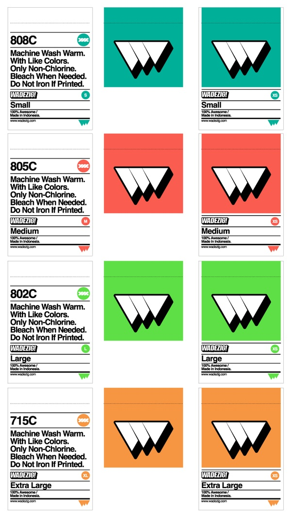 WADEZIG! Labels