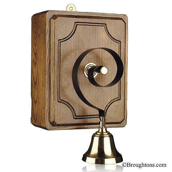 Victoria Door Bell Oak  sc 1 st  Pinterest & 104 best images about Door Bells on Pinterest   Satin Arts ... pezcame.com