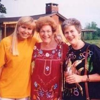 Beautiful ladies. Kim, mom and Becky