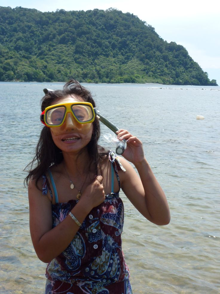 outdoor activity at Tablanusu beach, Papua, Indonesia...