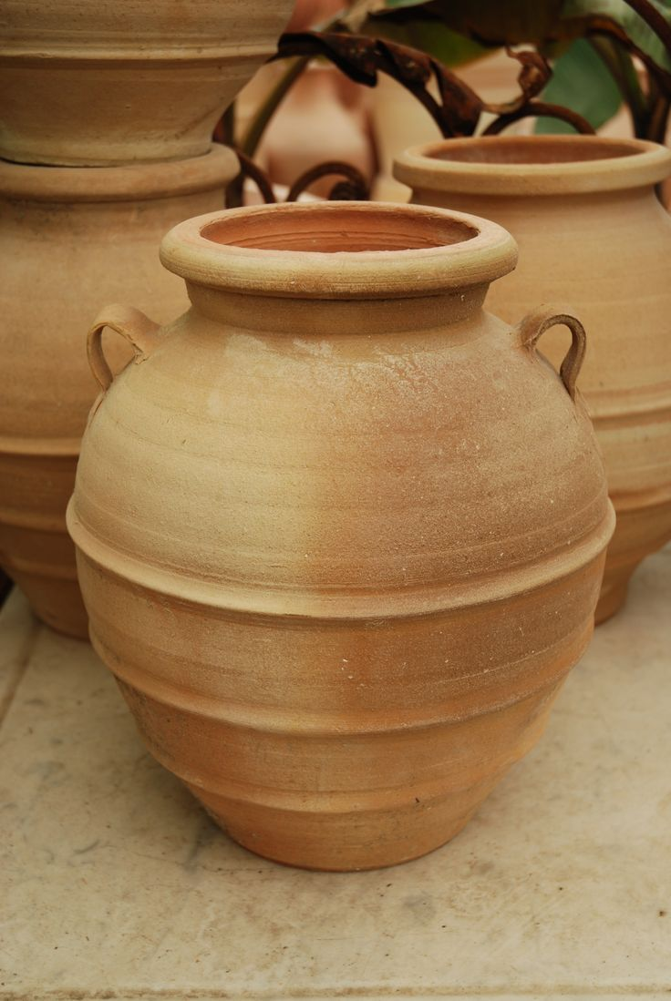 Greek Terracotta Jar I love this medium