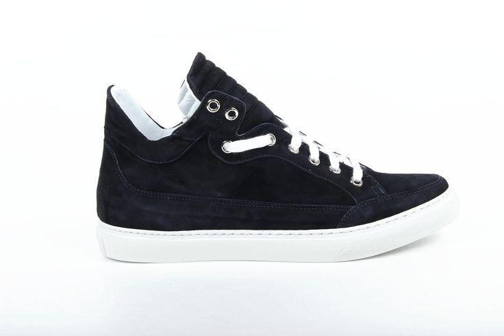 Versace 19.69 Abbigliamento Sportivo Milano ladies sneakers B2194 CAMOSCIO BLU