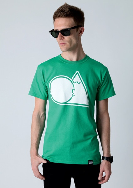 TRIANGLE BUBBLE / KELLY GREEN COLLECTION