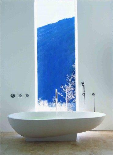 .: Art Decor, Bathroom Tubs, Bathroom Design, Dream, Half Bath, Bathroom Accessories, Bathtub Art, Beautiful Bathrooms