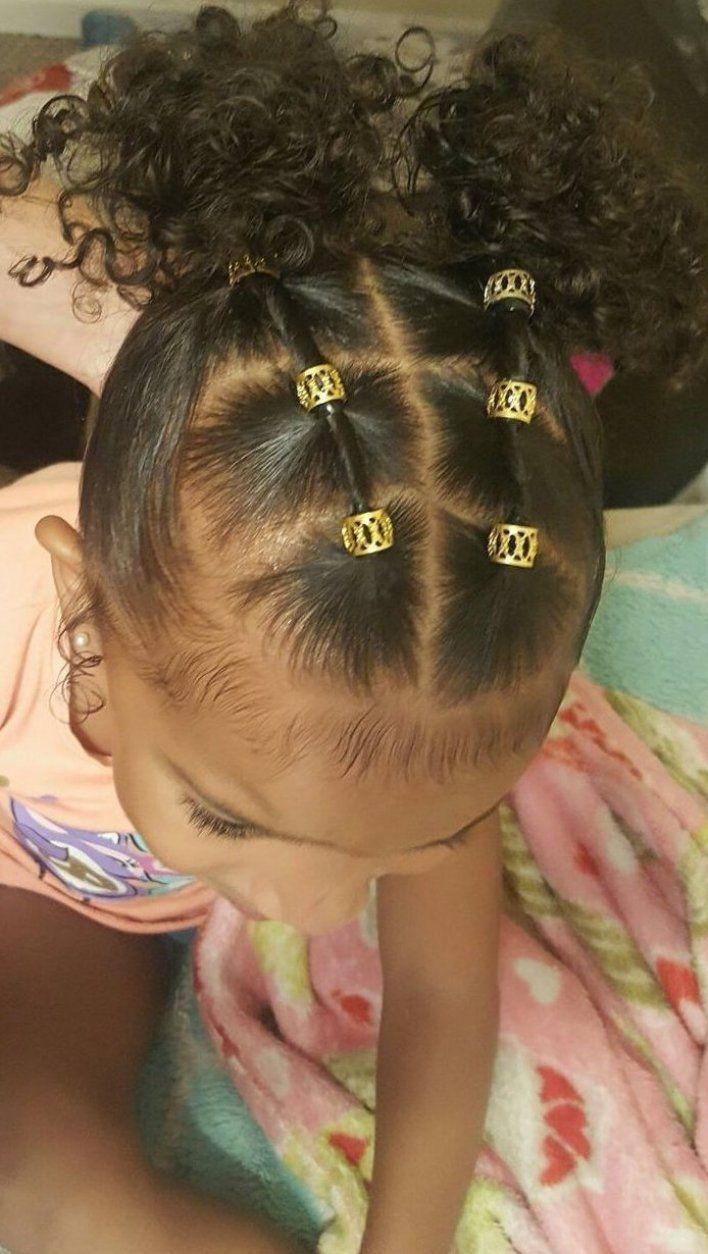Easy Hairstyle Girl Baby Babyboy Babysgirl Babyshower In 2020 Little Girls Natural Hairstyles Kids Curls Girls Natural Hairstyles
