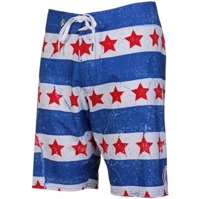 4th of july mens swim trunks