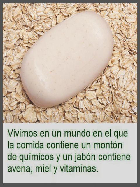 Jabón VS Avena