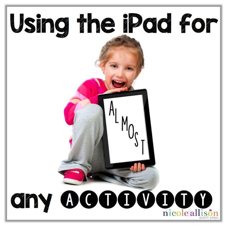 ipad for any activity1