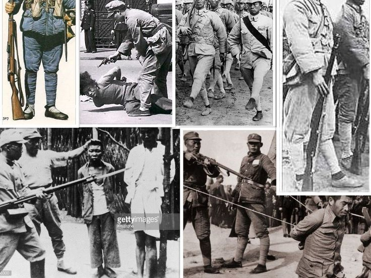 a look at the atrocities committed during wwii Several of the key perpetrators of the atrocities,  on war crimes committed by japanese soldiers during world war ii (such as the nanking massacre.