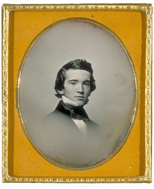 Horace Hopkins Coolidge, age 22, on his graduation from Harvard, class of 1852. ... a genial charm of manner, a rare tenderness and a spirit of living kindness, and a loyalty in friendship which made him dearly loved by all who knew him.