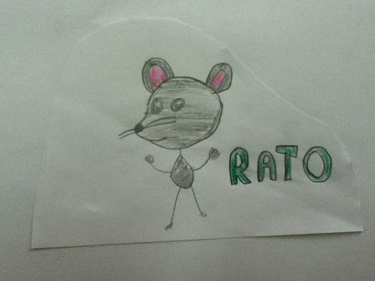 R...rato: pequeno mamífero roedor
