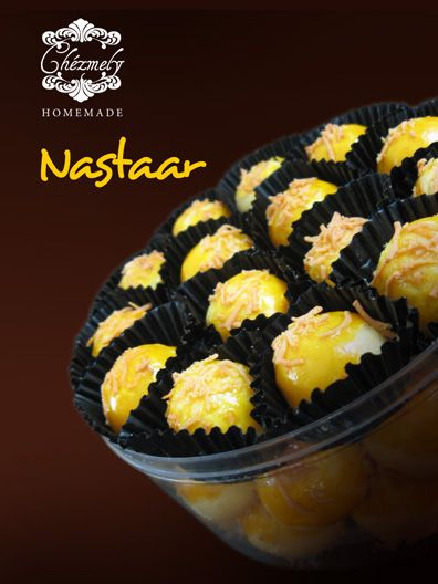 Nastar, Indonesian classic pineapple jam filled butter cookies, very popular during Ramadhan and Christmas.