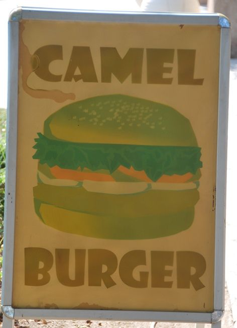 Camel Recipes - Burgers For Sale in Dubai | The Travel Tart Blog