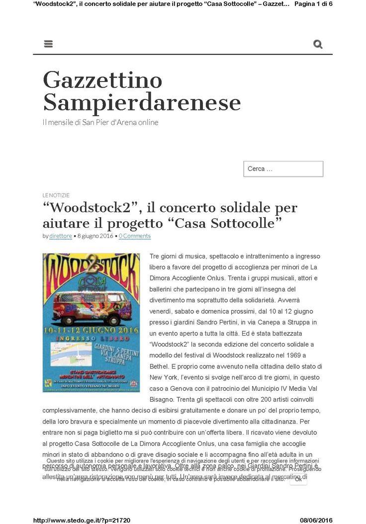 Gazzettino Sampierdarenese - 8 giugno - pag. 1/2