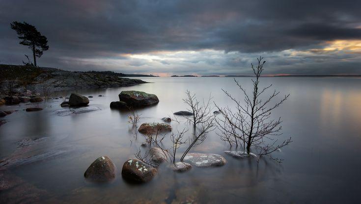 Lake Vänern from Bergviksudde [Bergvik, Varmland, Sweden] | Flickr - Photo Sharing! https://www.flickr.com/photos/do81/8203350470/