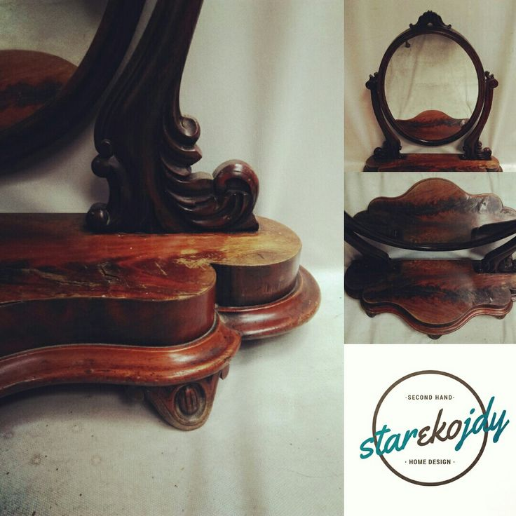 Old stylized mirror 😍 from 20's 👌 #mirror #20s #antiques #starekojdy #miedzywojnie #lata20 #meble #drugarzeczpospolita #oldtimes #chique #classics #antiquefurniture #antiquestore #antiquerestoration