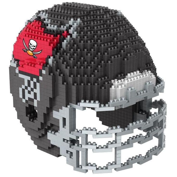 Tampa Bay Buccaneers NFL 3D BRXLZ Puzzle Helmet Set (SHIPS
