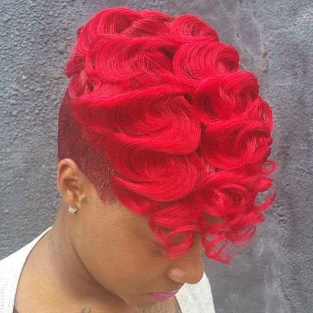 99 best colors i want to try images on pinterest colourful hair this bold color via is popping fandeluxe Choice Image
