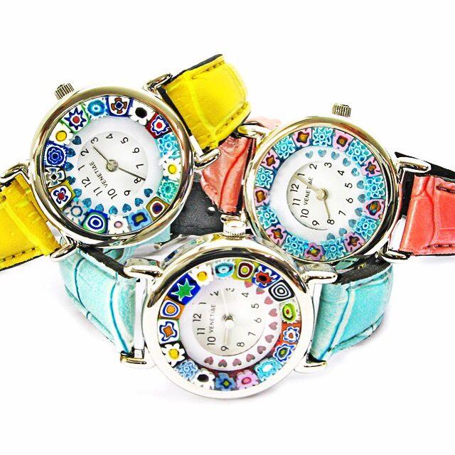 murrina watch in fabulous colours! ❤️#murrina #murano #watch #brno #czech #italian #style #italie #hodinky