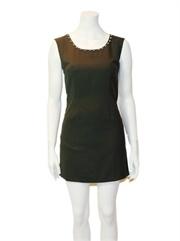 Sleeveless studded dress