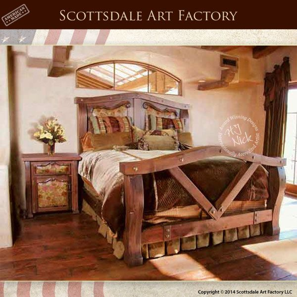 King Bed - Craftsman Beds - CFBS315