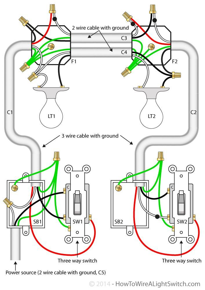 Wiring Diagram For 3 Way Switch With 4 Lights Http Bookingritzcarlton Info Wiring Diagram For 3 Wa Home Electrical Wiring Diy Electrical 3 Way Switch Wiring