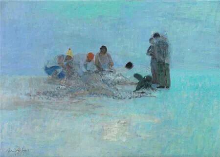 """Avni Arbaş, """" Balıkçılar """" - 1973"""