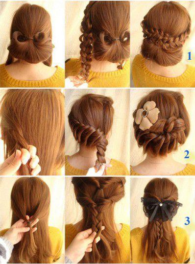 Trik Mode Rambut Ala Korea | Korean Hairstyles 2013