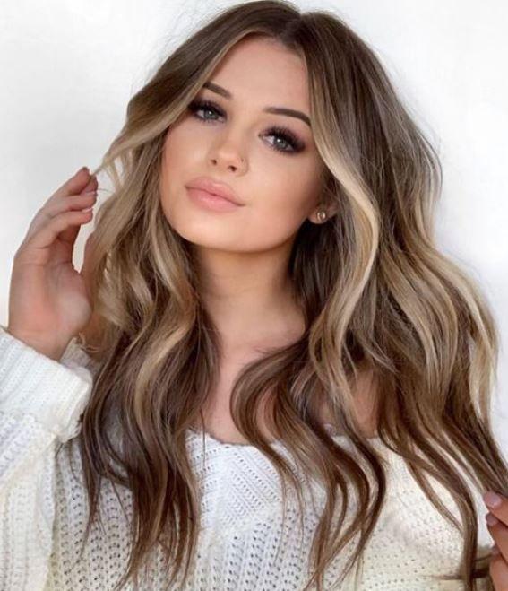 Yazin Trend Sac Rengi Blonde Balyaj Modelleri 2019 2020 Balyaj Sac Rengi Sac