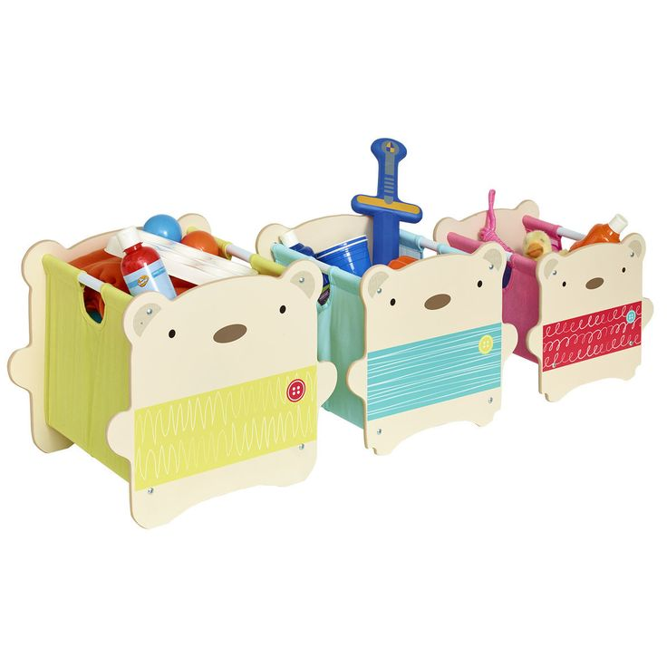 Bear Hug Stack Storage by Worlds Apart. Get it now or find more Toy Boxes at Temple & Webster.