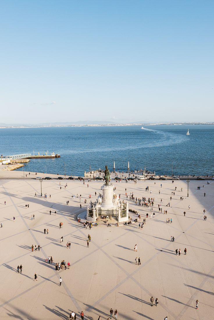 Vista do Arco da Rua Augusta, Lisboa