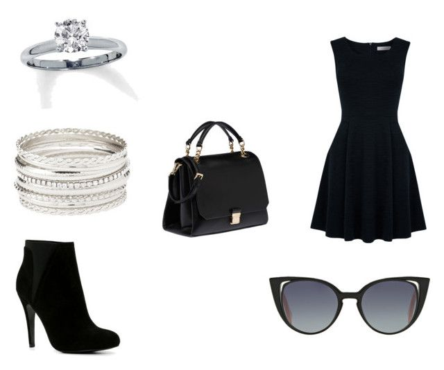"""""""Agent Palmer - Everyday 9"""" by amydewolfe-1 on Polyvore featuring Oasis, ALDO, Fendi, Miu Miu and Charlotte Russe"""