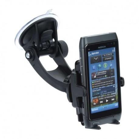 Soporte telefonos moviles Coche Universal Soporte universal,para casi todos los dispositivos anchura de 46 mm a 76 mm